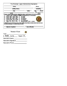 Vfw Membership Application Form on vietnam veterans of america membership, nra membership, golf membership, lions club membership,
